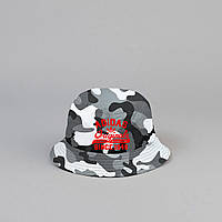 Панама Adidas Originals - камуфляжная с красной надписью