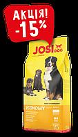 JosiDog Economy 15 кг, корм для всех пород собак