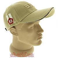 "Бейсболка 5.11 Baseball cap Tan ""93"" (13046)"