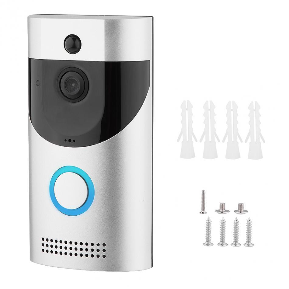 Домофон Noisy Smart Doorbell CAD B30 1080p с Wi-Fi Silver-Black (np2_0 5