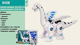 Интерактивное животное 845B (36шт/2) динозавр, свет, звук, ходит, в коробке