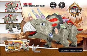 Интерактивное животное 849A (32шт/2) динозавр, свет, звук, ходит, в кор.41*14*18см