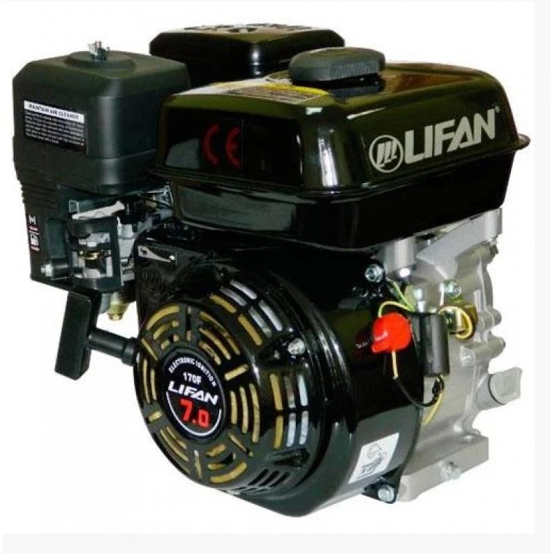 Двигун бензиновий Lifan LF170F (7 к. с., вал 20 мм, шпонка)