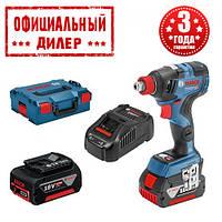 Гайковерты аккумуляторные Bosch GDX 18V-200 C (18В, 2х5.0Ач, 200 Нм)