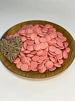 Шоколадные чипсы розовые 500 г