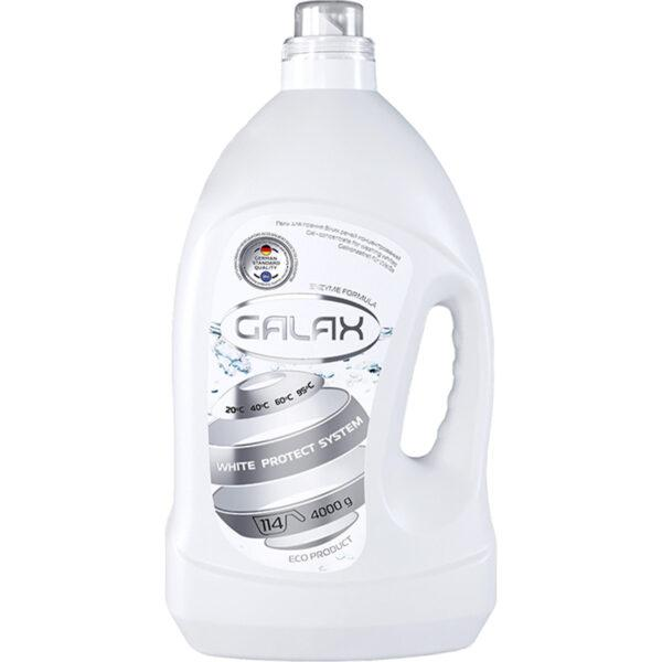 Гель для стирки белого белья Galax 4л