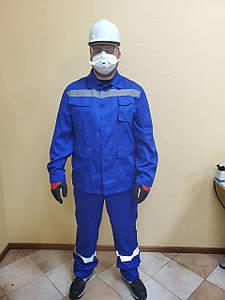 Костюм рабочий SPEC-BLUE, плотностью 245 г/м2. SIZ