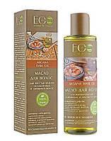 Масло для волос лечения ослабленных и секущихся волос ECOLab