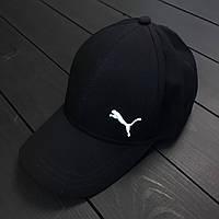 Черная молодежная бейсболка, кепка пума (Puma), реплика, фото 1