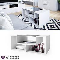 Vicco журнальный столик Gabriel-N, 100х60, цвет белый