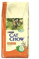 Cat Chow (Кет Чоу) Adult Корм для взрослых кошек с курицей и индейкой 15 кг