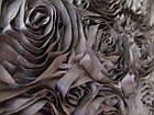 Атласные розы 3D (черный), фото 2