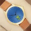 Годинник Україна, корпус золотистий