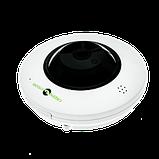 Купольная IP камера Green Vision GV-075-IP-ME-DIА20-20 (360) POE, фото 4