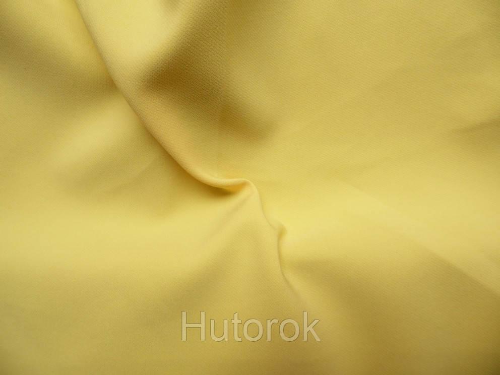 Креп костюмка Барби (желтый)