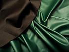 Кожзам стрейч (зеленый изумруд), фото 2
