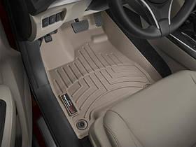 Ковры резиновые WeatherTech  Acura MDX 2014+ передние бежевые