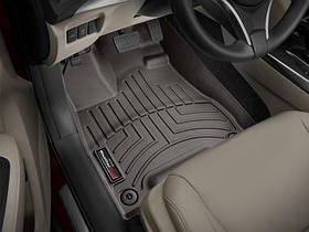 Ковры резиновые WeatherTech  Acura MDX 2014+ передние какао