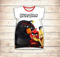 Платье-туника 3D Angry Birds Friends Взрослые и детские размеры, фото 1