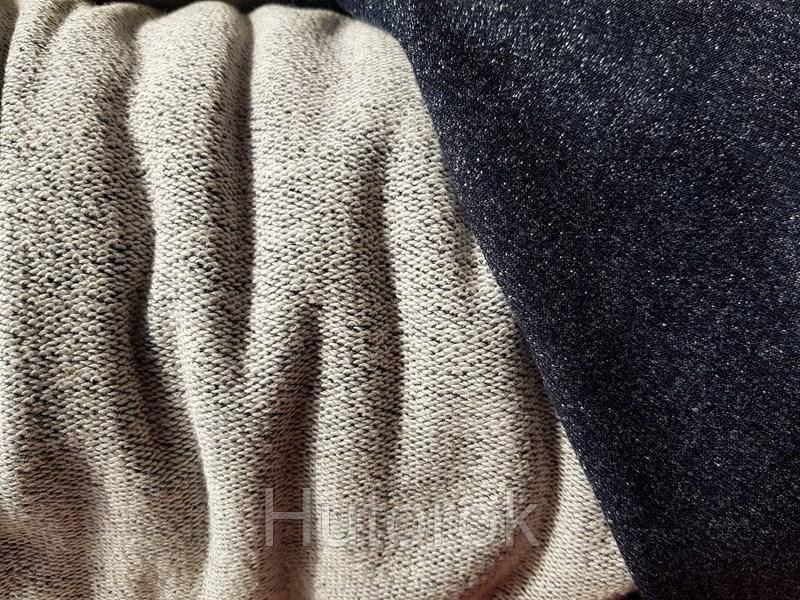Трехнитка петля люрекс (синий)