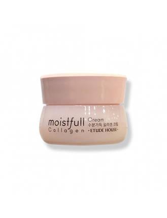 Крем для лица с коллагеном  Etude House Collagen Moistfull Cream, 10 мл, фото 2