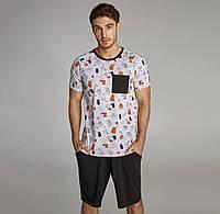 Мужская пижама с шортами ТМ Ellen