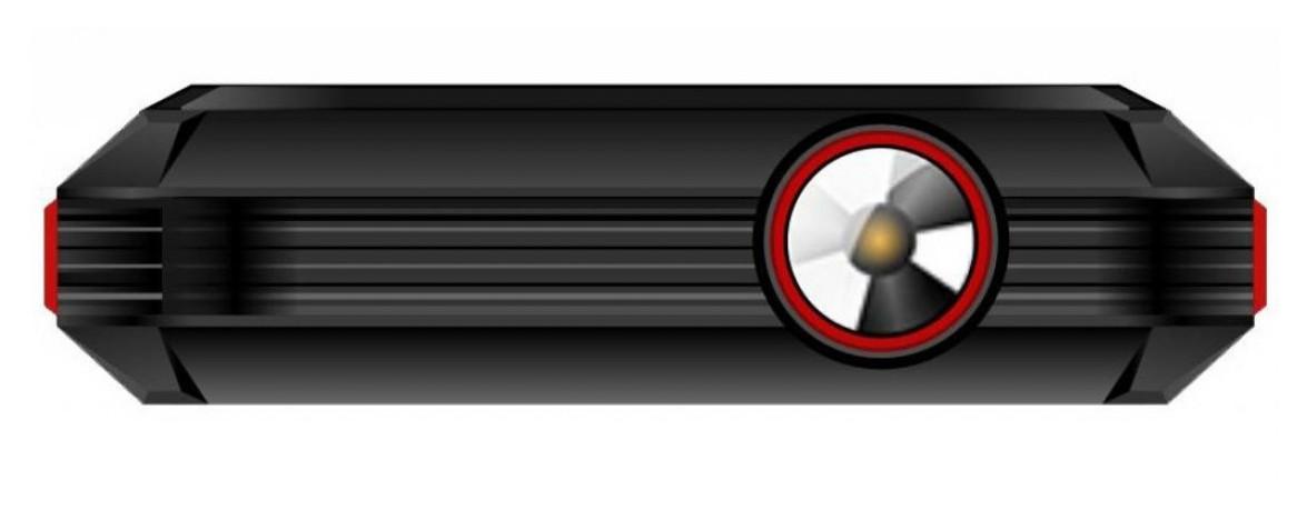 Мобильный телефон ERGO F248 Defender Dual Sim Черный