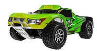 Радиоуправляемая машина шорт-корс 1:18 WL Toys полный привод, скорость 40 км/час (зеленый)