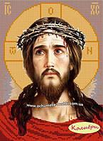 """Схема для вышивки """"Иисус в терновом венце"""""""