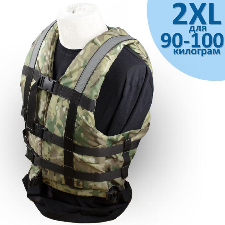 """Страховочный жилет """"Glisser"""" Cam размер """"2XL"""" от 90 до 100 кг."""