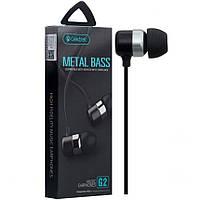 Наушники с микрофоном CELEBRAT G2 черные
