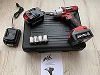 Аккумуляторный ударный гайковерт MAX MXIWCD24V _ 24V