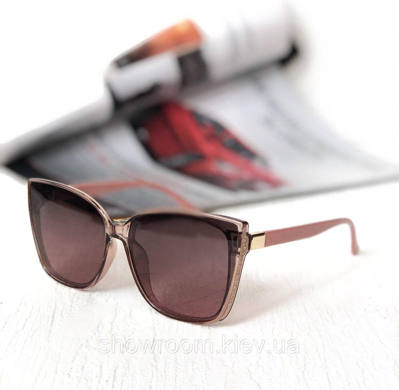 Женские солнцезащитные очки с поляризацией (50050) rose