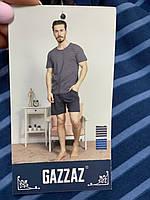 Мужская пижама с шортами и футболкой размер М