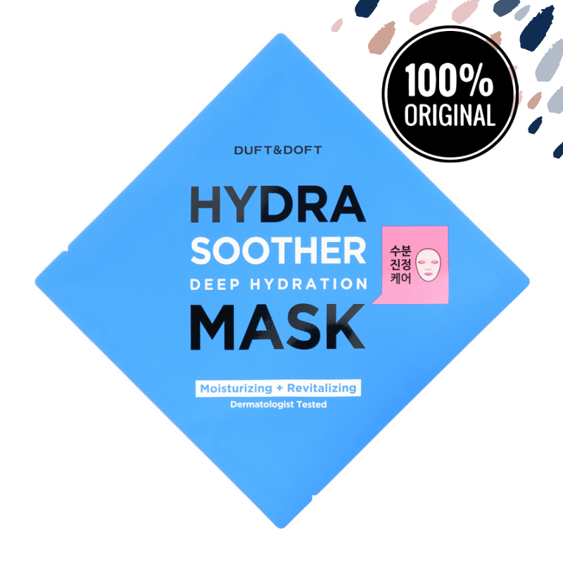 Зволожуюча тканинна маска з гіалуронової кислотою DUFT & DOFT Hydra Soother Deep Hydration Mask