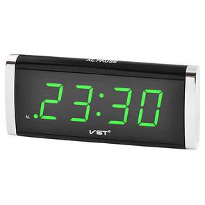 🔝 Настольные часы, будильник, с зеленой подсветкой - VST-730-2 | 🎁%🚚
