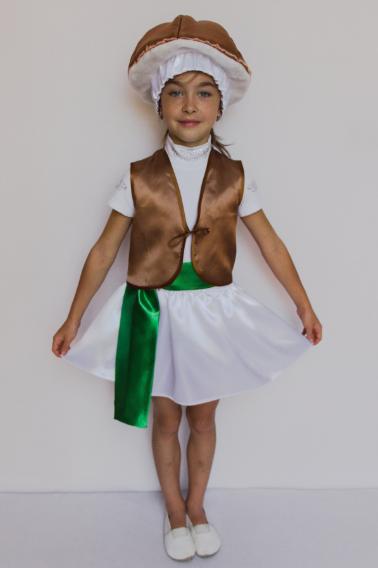 Костюм гриба на дівчинку Опеньок на 3-6 років