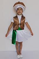 Костюм гриба на девочку Опенок на 3-6 лет