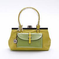 Сумка Velina Fabbiano желтая-зеленая