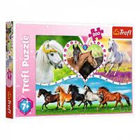 Пазл Trefl Красивые лошади 200 эл. (13248)