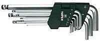 Ключи шестигранные HEX 1.5-10 ММ, набор 9 ШТ.*1уп. TOPEX