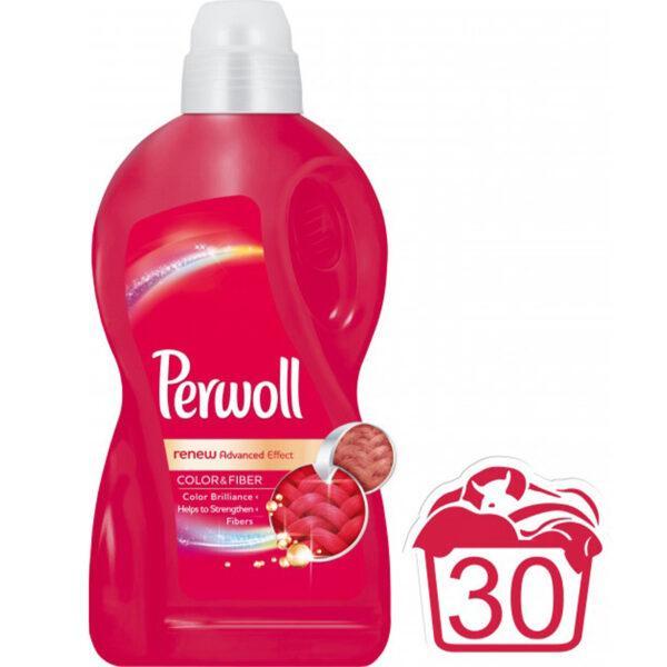 Средство для стирки Perwoll Advanced Color 1,8 л Эффект «Восстановление цвета+»