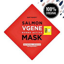 Антивозрастная тканевая маска с экстрактом лососевой икры DUFT & DOFT Salmonvgene Hydro Active Mask