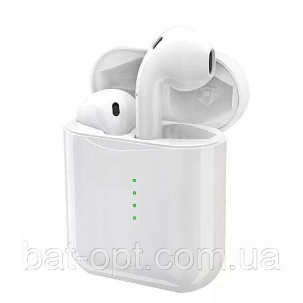Беспроводные наушники Bluetooth V11 TWS с кейсом белые