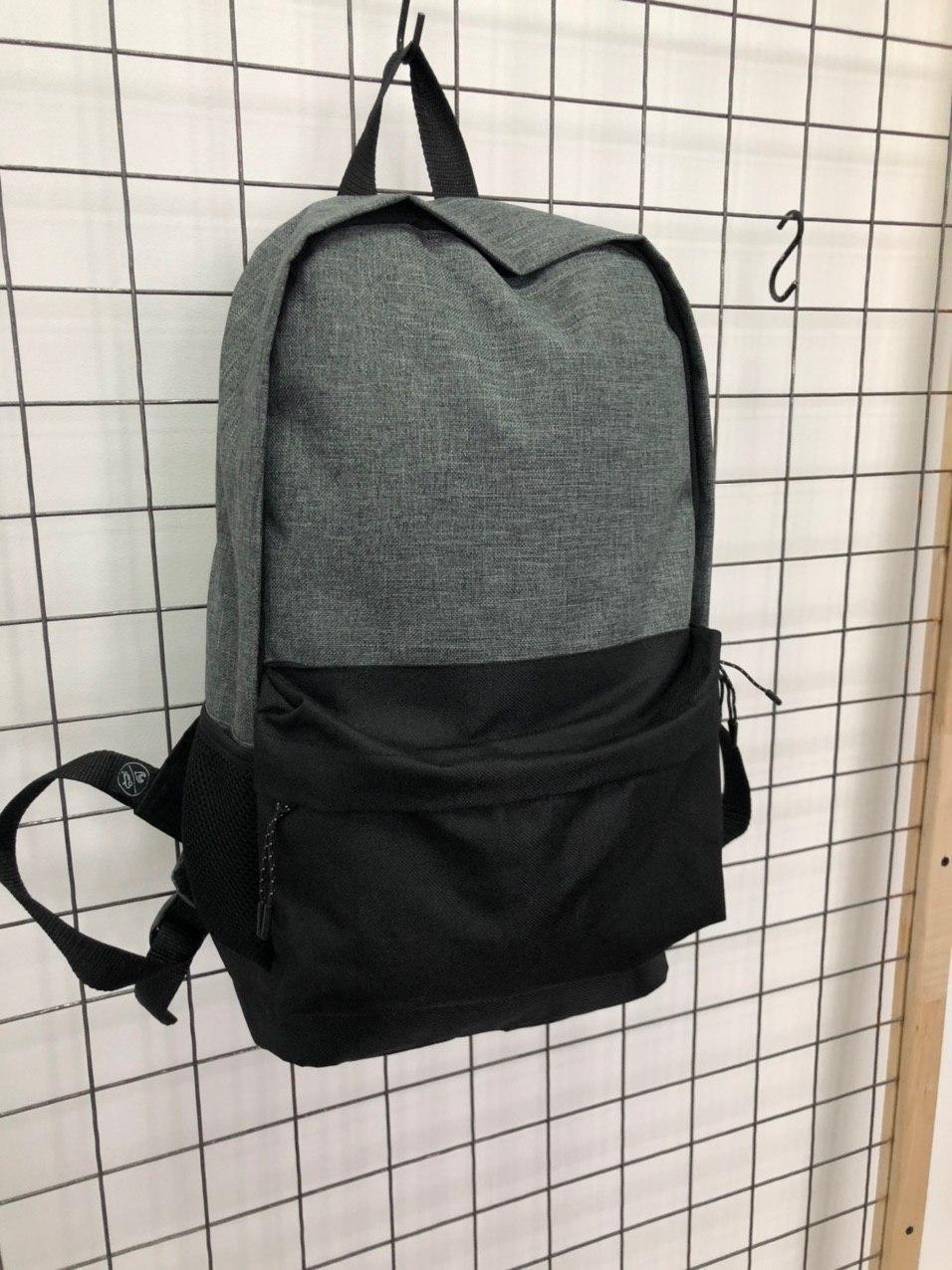 Рюкзак Пушка Огонь чорно-сірий