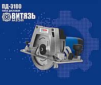 Пила дисковая Витязь ПД-3100 циркулярка с переворотом