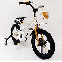Велосипед 16-GALAXY White (белый) Магниевая рама (Magnesium)