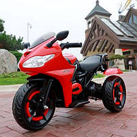 Детский электро-мотоцикл T-7222 Красный