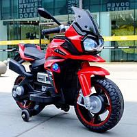 Детский электро-мотоцикл T-7227 Красный