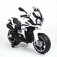 Детский электро-мотоцикл T-7227 Белый
